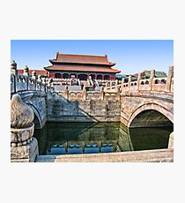 Forbidden City. Beijing, China Photographic Print
