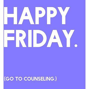 Friday (GTC) Greeting Card by CXMH