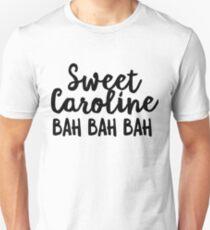 Sweet Caroline - Music Lover Hipster Unisex T-Shirt