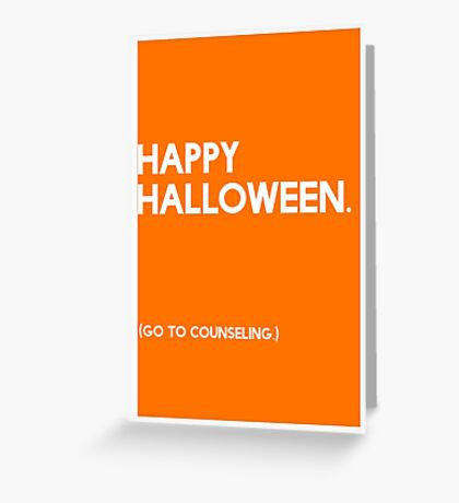 Halloween (GTC) Greeting Card Greeting Card