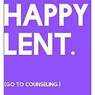 Lent (GTC) Greeting Card by CXMH