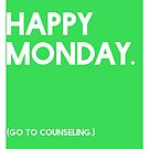 Monday (GTC) Greeting Card by CXMH