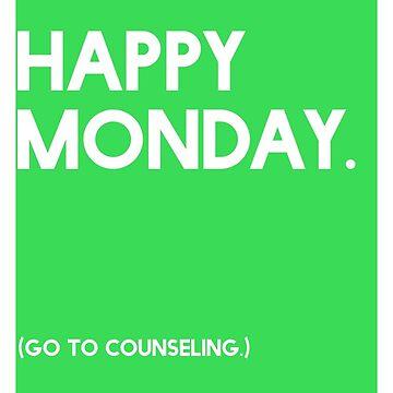 Monday (GTC) Greeting Card by CXMH