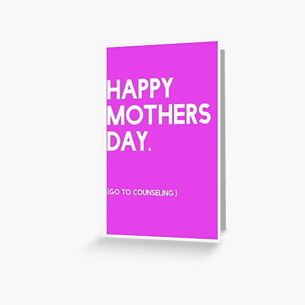 Mothers Day (GTC) Greeting Card Greeting Card