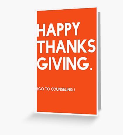 Thanksgiving (GTC) Greeting Card Greeting Card