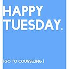 Tuesday (GTC) Greeting Card by CXMH