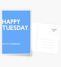 Tuesday (GTC) Greeting Card Postcards