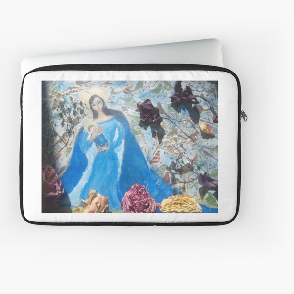 My Madona with the child Laptop Sleeve