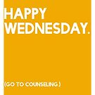 Wednesday (GTC) Greeting Card by CXMH