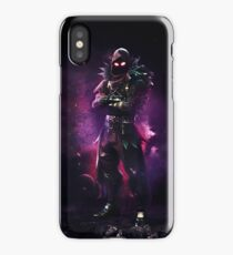 Raven Cool Fortnite Character Design  iPhone Case