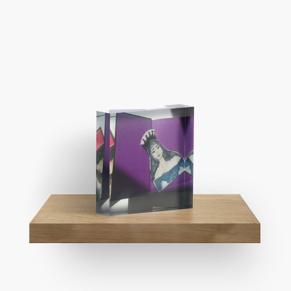 For the love of reading Acrylic Block