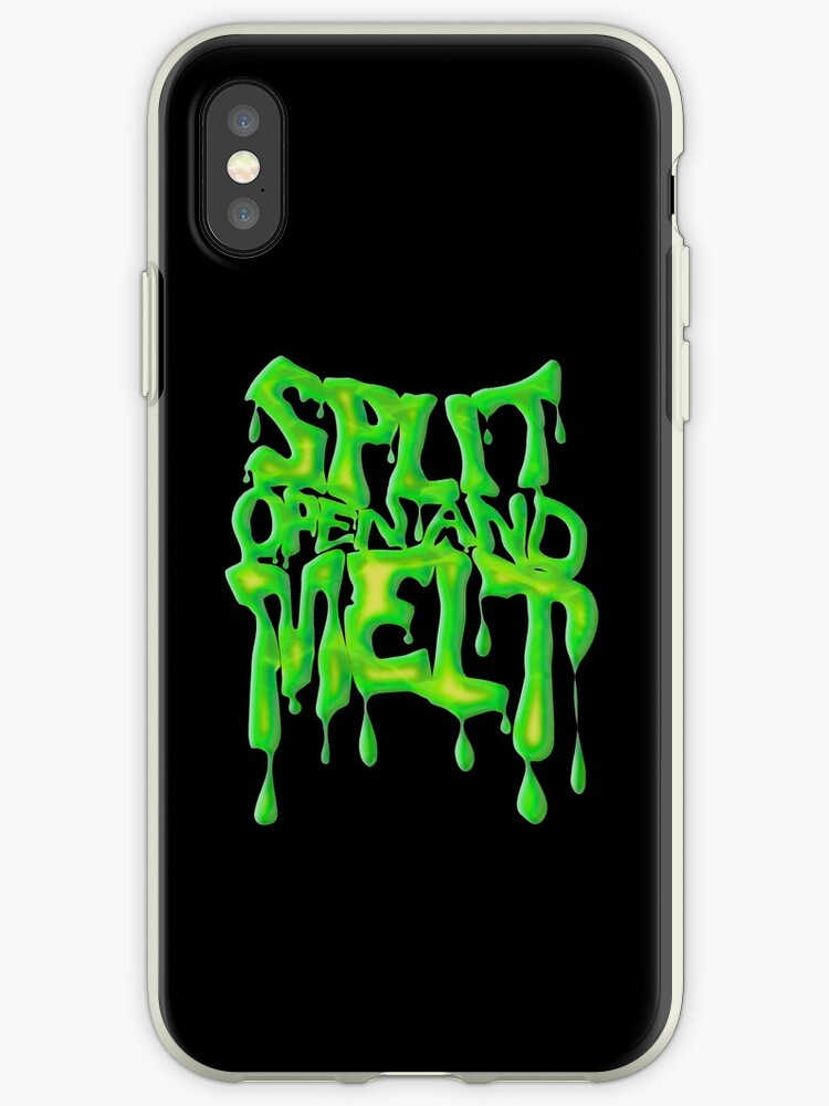 on sale 3b3c8 3465d 'split open and melt, Phish' iPhone Case by AllyFlorida