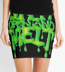 split open and melt, Phish Mini Skirt