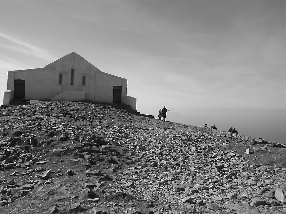 Church on Croagh Patrick by nicsonic