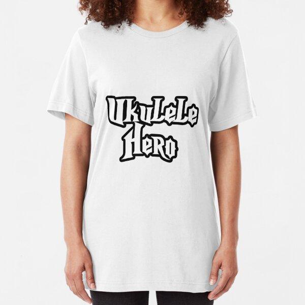 Ukulele Hero! Slim Fit T-Shirt