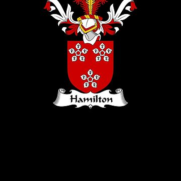 Hamilton Coat of Arms - Family Crest Shirt by FamilyCrest