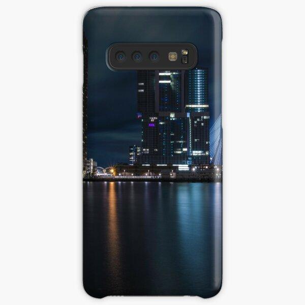 Rotterdam skyline by night Samsung Galaxy Snap Case