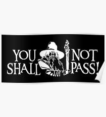 You Shall Not Pass! Variant Poster
