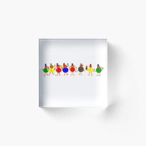 Marching Band Acrylic Block