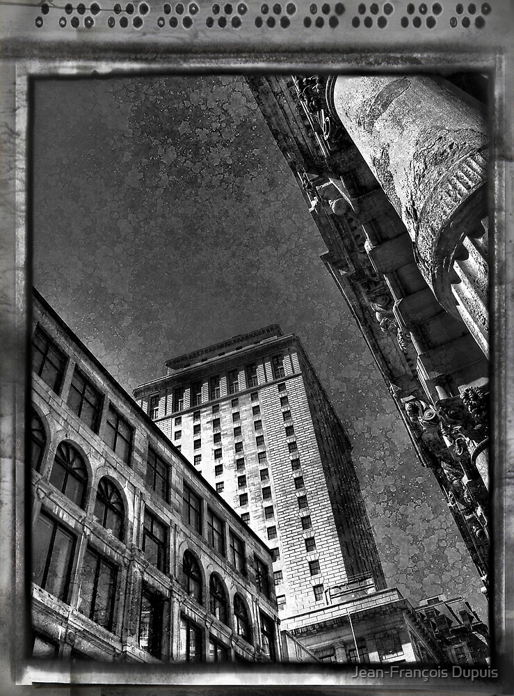 Architecture old Montreal by Jean-François Dupuis