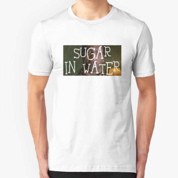 Edgar Sugar in Water MIB Transparent Letters Slim Fit T-Shirt