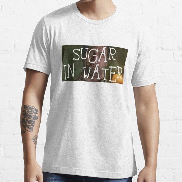 Edgar Sugar in Water MIB Transparent Letters Essential T-Shirt