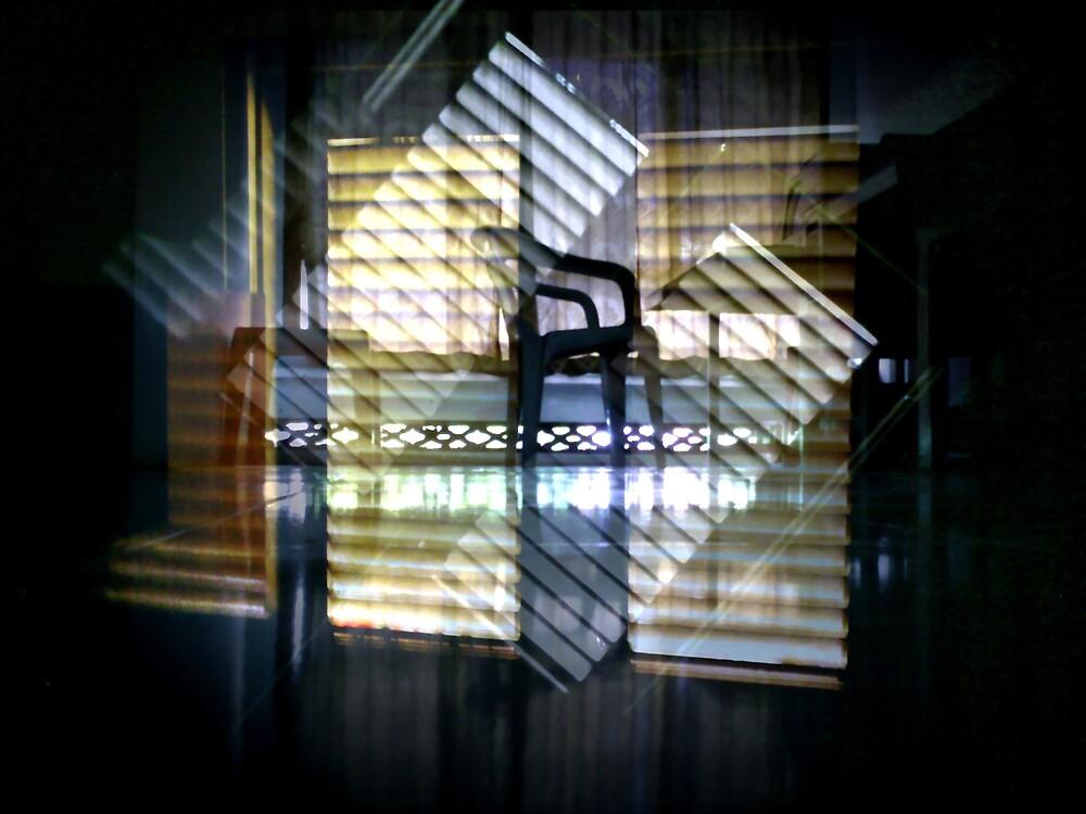 accompanied by light by Purnayana