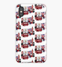 London - funny - t-shirt iPhone Case