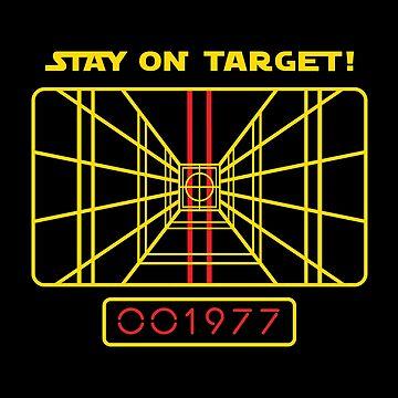 Stay On Target - 1977 Targeting Computer by Purakushi