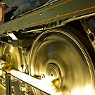 Steam Train Wheels by Stephen Knowles