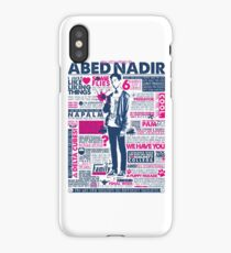 The Wise Words of Abed Nadir iPhone Case