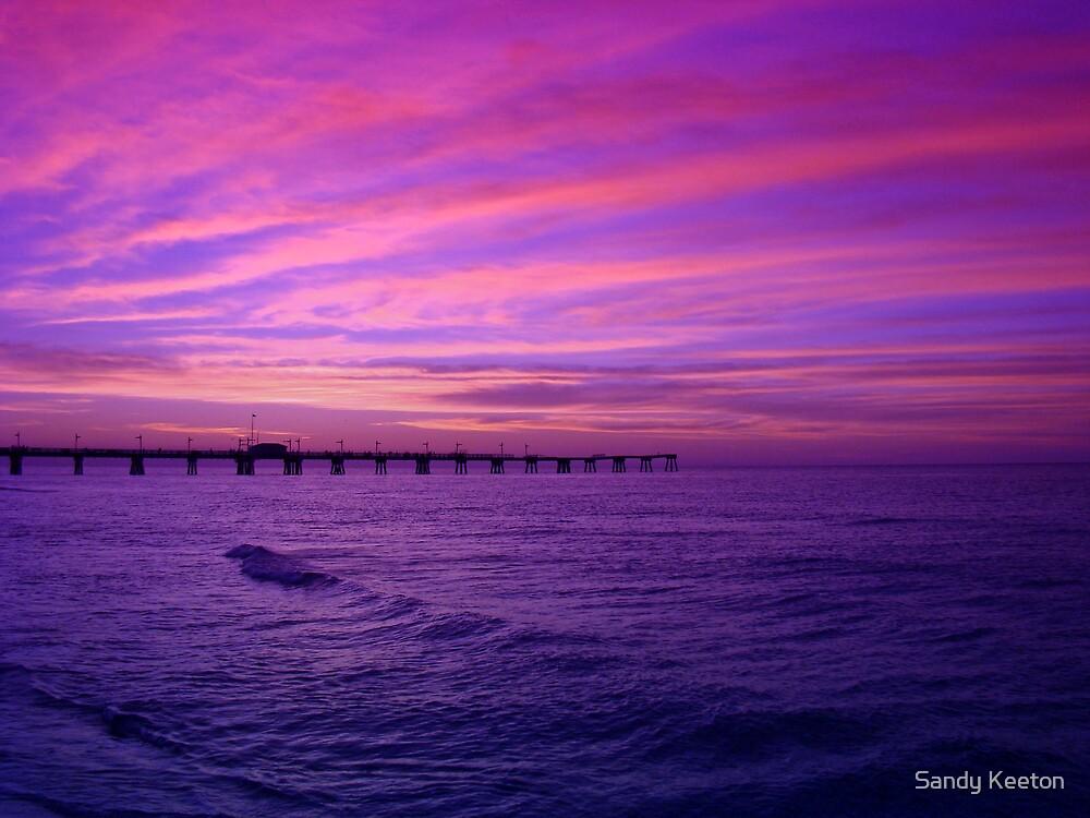 Blue Sea by Sandy Keeton