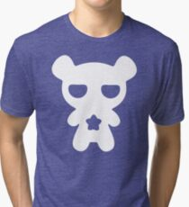 Lazy Bear Baby Blue Tri-blend T-Shirt
