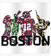 Boston Legends Poster
