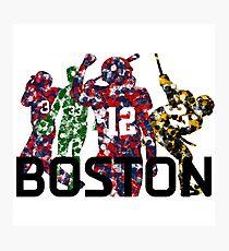Boston Legends Photographic Print