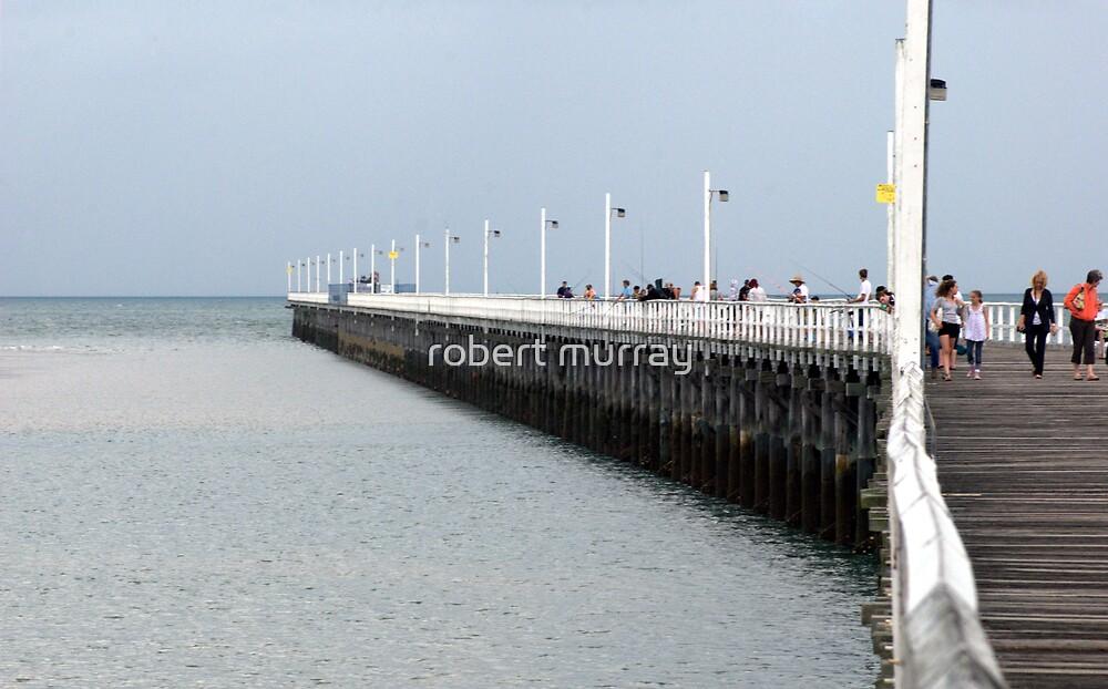 Urangan Pier Hervey Bay by robert murray