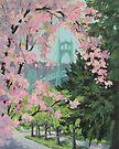 Blooming Bridge by Karen Ilari