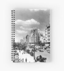 Historical cityscape Spiral Notebook