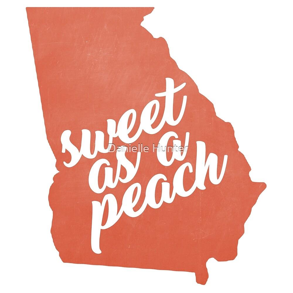 e2204bddc76e Sweet as a (Georgia) Peach (Sticker v.2)