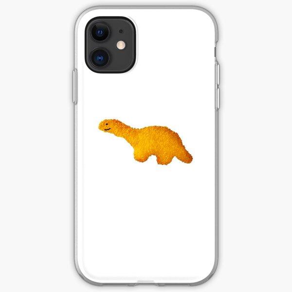 Happy Dino Nugget  iPhone Soft Case