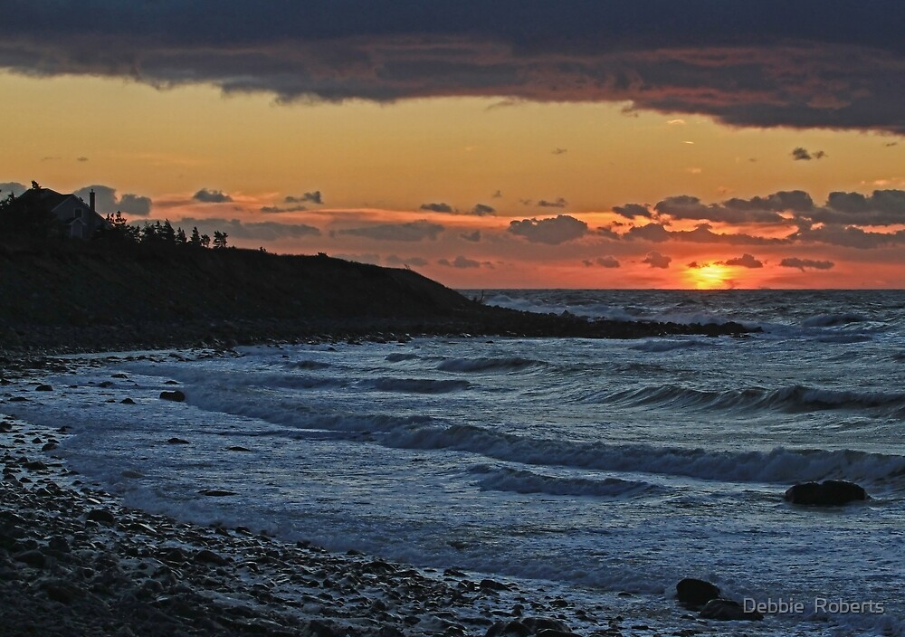 Sandford Sunset by Debbie  Roberts