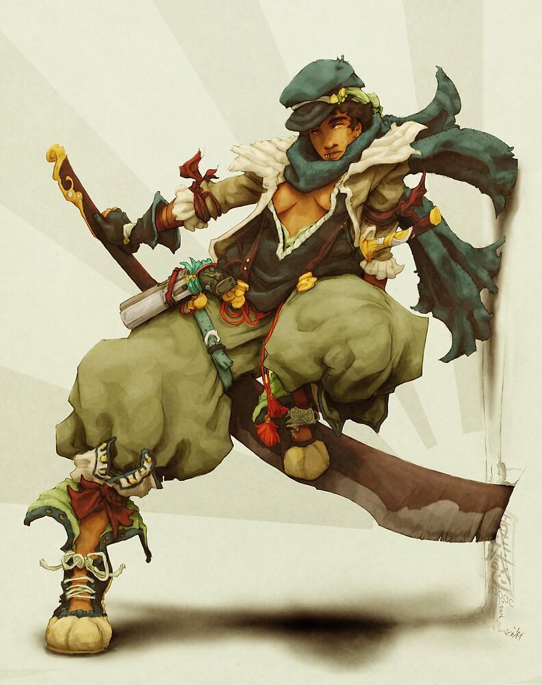 zen: king of pirate gods by fydbac