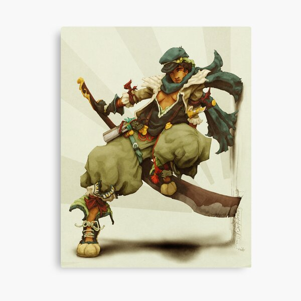 zen: king of pirate gods Canvas Print