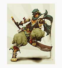 zen: king of pirate gods Photographic Print