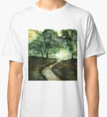 Watercolor Forest Walk Classic T-Shirt