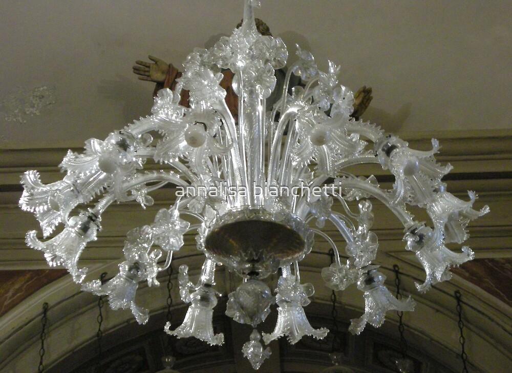 a beautiful chandelier by annalisa bianchetti