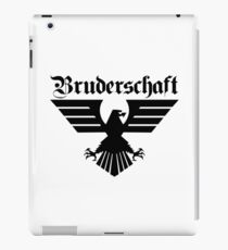 Brotherhood Eagle (Bruderschaft Bundesadler) - Black/Schwartz iPad Case/Skin