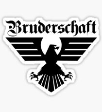 Brotherhood Eagle (Bruderschaft Bundesadler) - Black/Schwartz Sticker