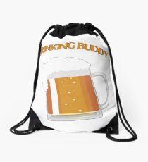 Drinking Buddy Drawstring Bag