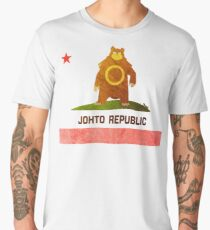Ursaring - Johto Republic Men's Premium T-Shirt